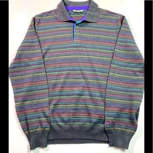 VINTAGE Dalmine Sweater 100% Pure New Wool Italy